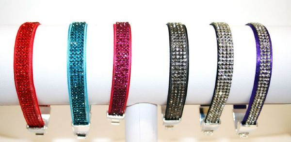 Crystal diamante bracelet